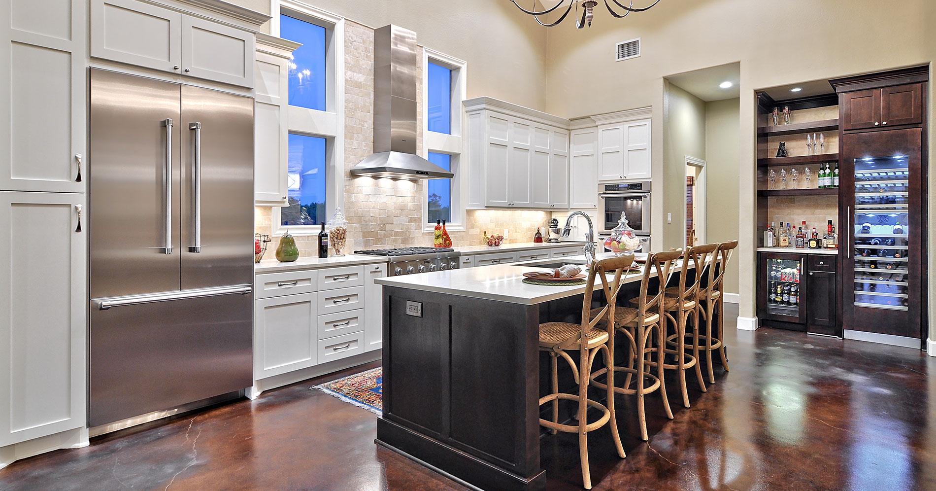 Best designs for kitchens laundry and fireplaces kustom for Kustom kitchens